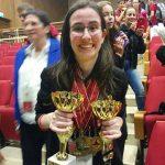 """מקום ראשון בתחרות הבינלאומית """"גביע המלומדים העולמי"""""""