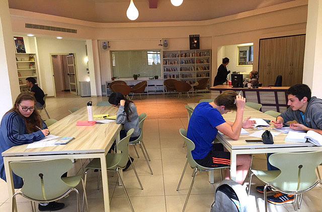 ספריית תיכון דה שליט