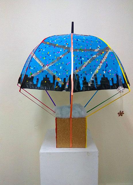 תערוכת מטריות מגמת אומנות